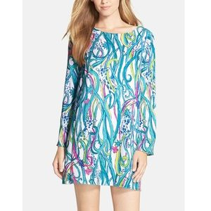 Lilly Pulitzer Colette Tunic Dress Giraffe Print